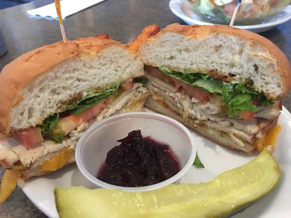 gluten free turkey sandwich