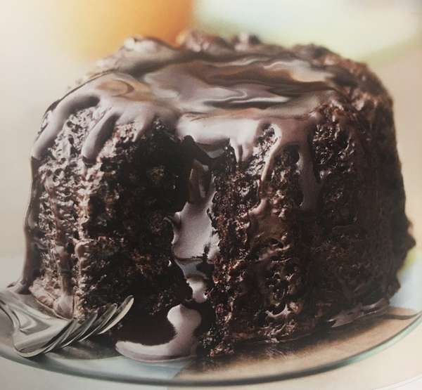 gluten free molten lava cake