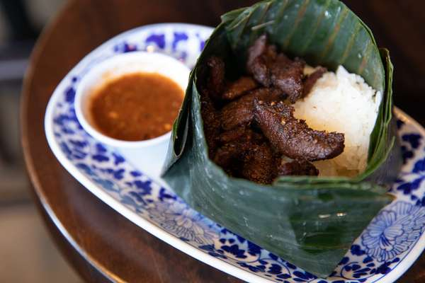 Heavenly Beef & Sticky Rice