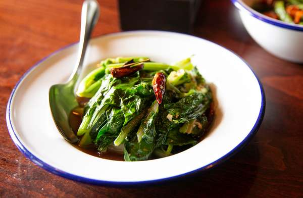 Chinese Broccoli & Roasted Red Chili