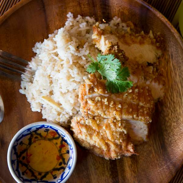 Fried Chicken & Garlic Rice