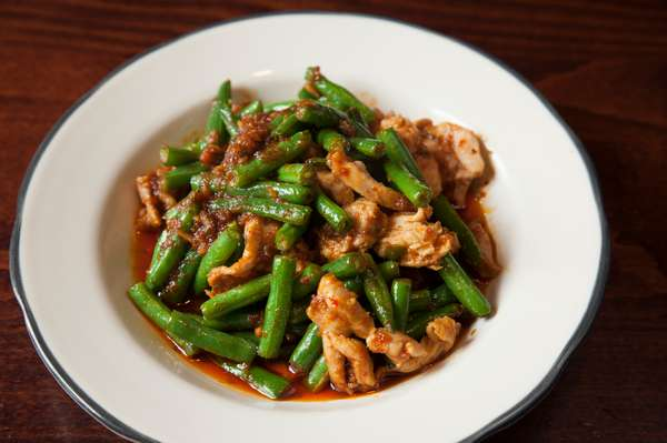 Green Beans and Red Chili Paste