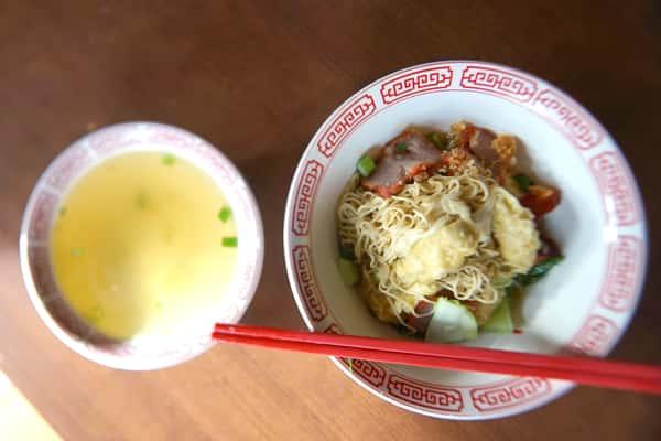 "Wonton Noodle Soup "" Bamee Geow Nam"""