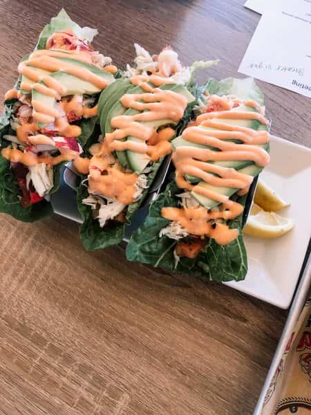 Crab lettuce Wraps