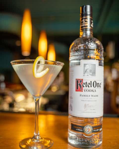 Martini at Bricco Akron