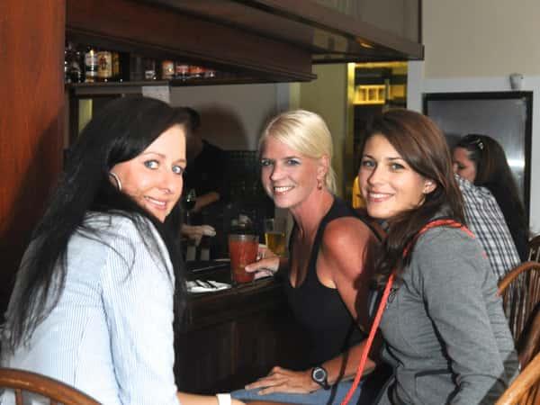 women at bar