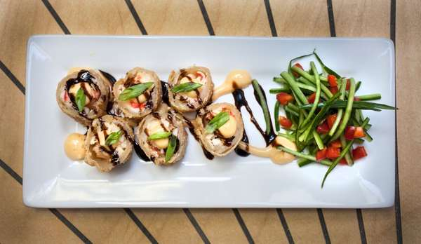 Crab & Shrimp Rolls