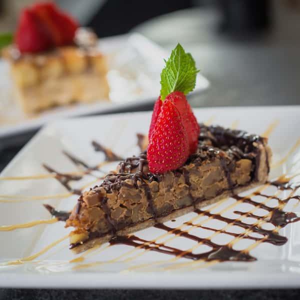 Homemade Chocolate Walnut Tart