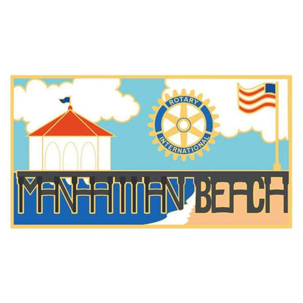 manhattan beach rotary logo