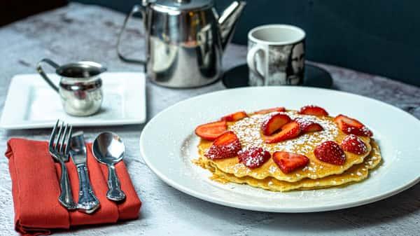 Traditional Buttermilk Pancake Stack