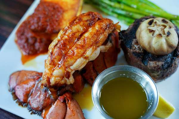 Filet Mignon and lobster