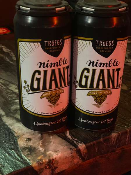 TRÖEGS INDEPENDENT BREWING- NIMBLE GIANT DOUBLE IPA