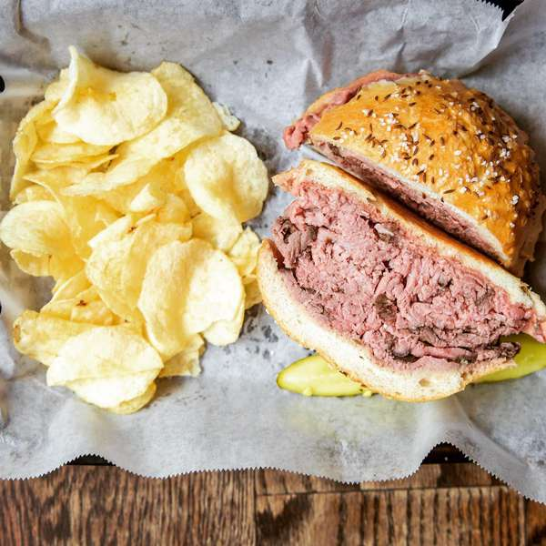 beef on weck aerial