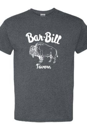 BAR-BILL DARK GRAY BUFFALO T-SHIRT