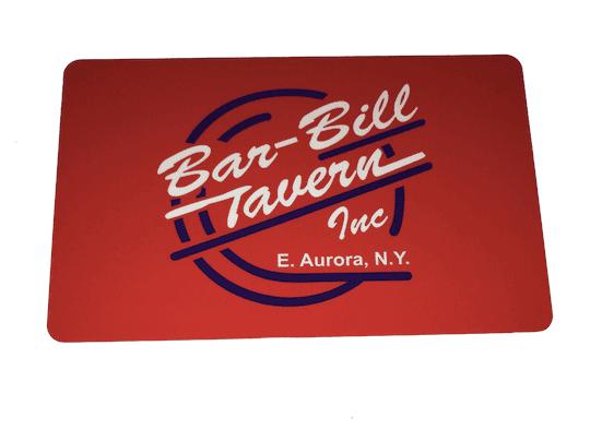 Bar-Bill Gift Card