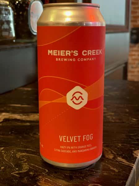 MEIER'S CREEK BREWING COMPANY - VELVET FOG