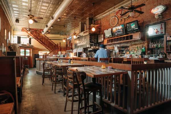 Interior bar area