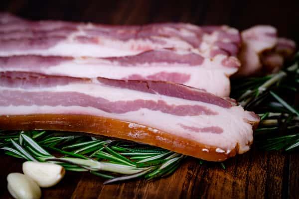 Rind-On Slab Bacon