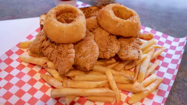 Chicken Strips plate
