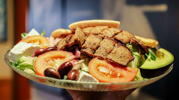 gyro lamb salad