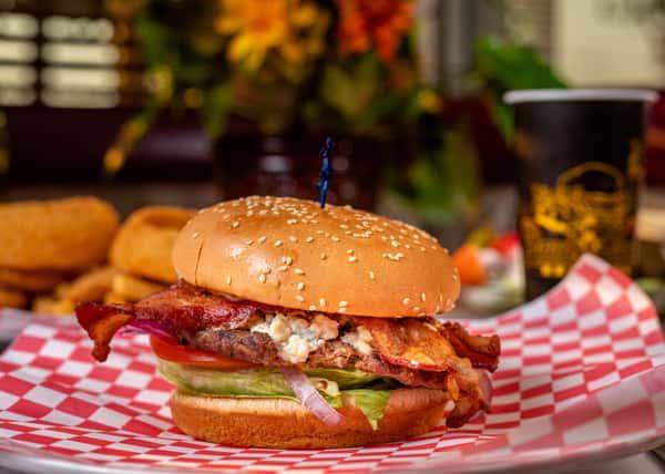 Blue Cheese Bacon Burger