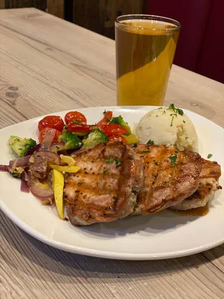 Boneless Pork Chop Dinner