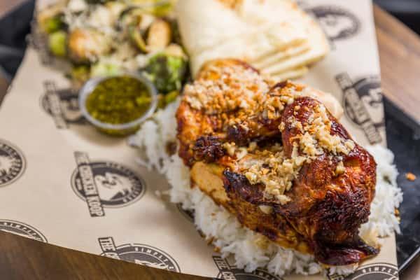 garlic chicken plate