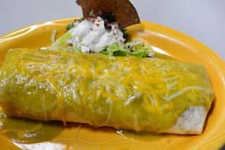 Chile Verde Burrito