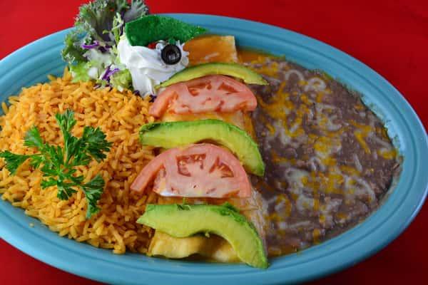 Halibut Enchilada