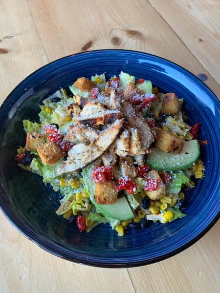 Spicy Caesar Salad