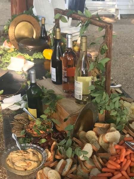 Grazing Table and Wine
