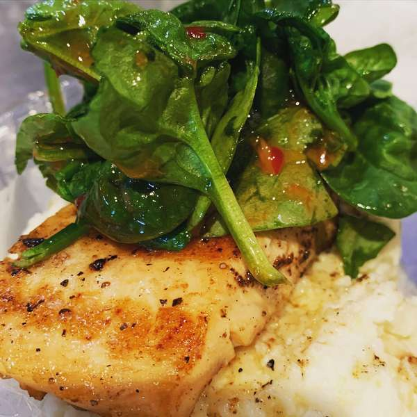 Hickory Grilled Atlantic Salmon