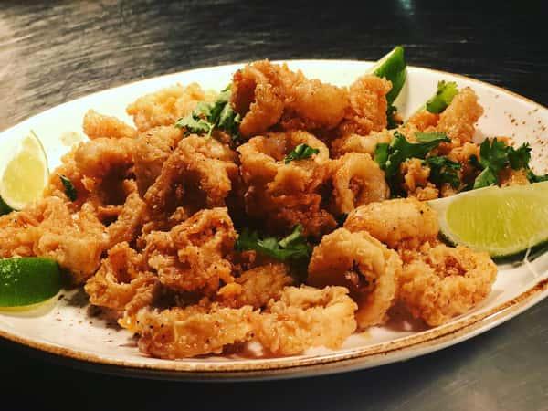 Honey-Chipotle Calamari
