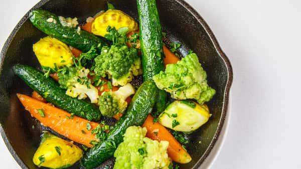 Vegetables Bouquetiere