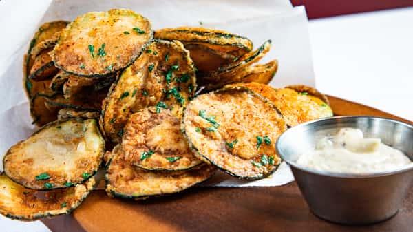 Squash Zucchini Chips