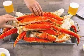 Crab Alaskan King 16-20 Legs & Claws per 10# box