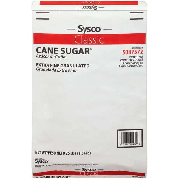 Sugar Granulated Extra Fine Cane