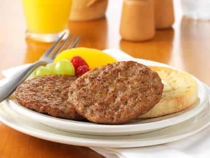 Mild Pork Sausage Patties 2oz