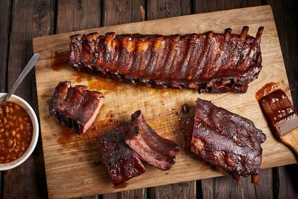 St.Louis Pork Rib Smoked