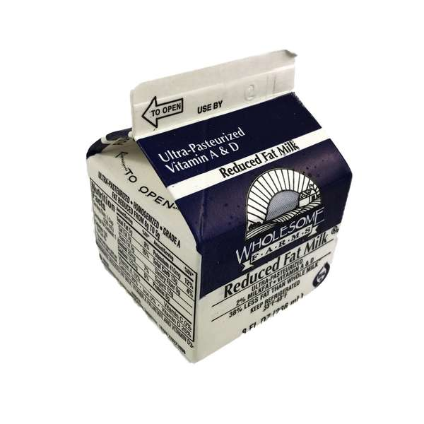 Milk 2% Reduced Fat Extended Shelf Life