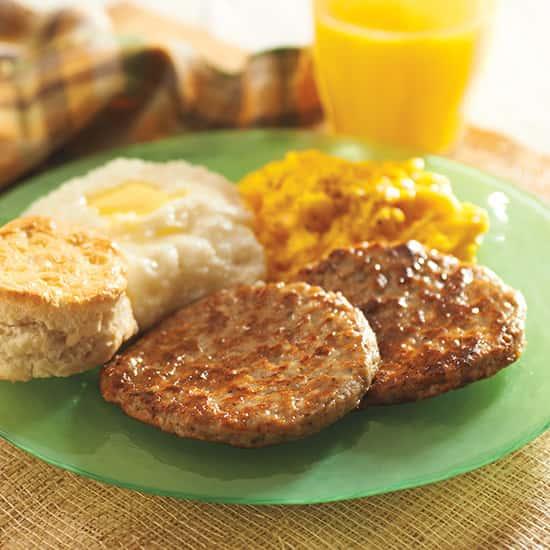 Mild Pork Sausage Patties 1 oz
