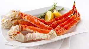 Crab Alaskan King 14-17 Legs & Claws per 10# box