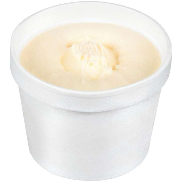 Vanilla Ice Cream 4oz Cup
