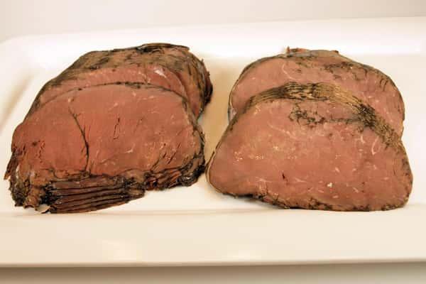 Fresh Top Round Roast Beef Sliced