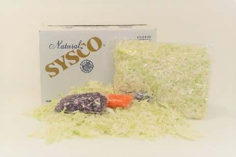 Cabbage Green Shredded Fresh in Bag