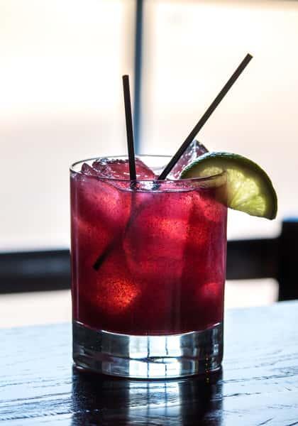 Blackberry Sage Margarita