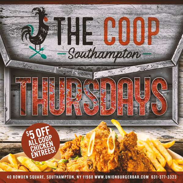 THE COOP THURSDAY