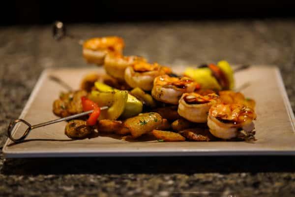 Sweet Soy Shrimp Skewers
