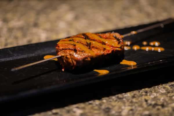 Single Steak Skewer