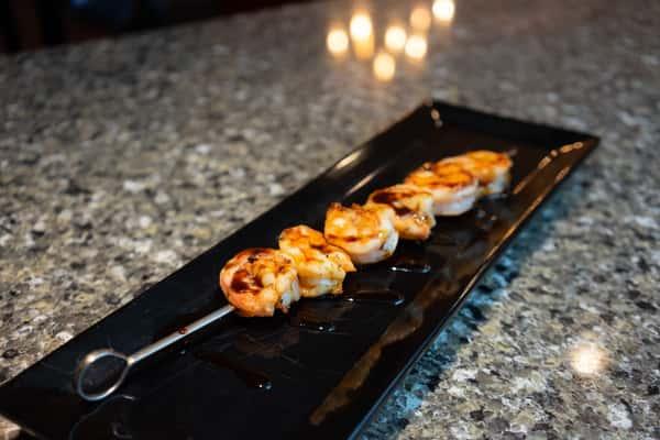 Single Shrimp Skewer